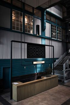 I liked the color AND the industrial look, reminds me of the ceiling in the hallways...