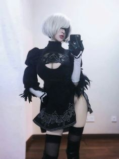 Post with 640 views. Cute Cosplay, Cosplay Girls, Cosplay Costumes, Anime Cosplay, Maou Sama, Video Game Cosplay, Cosplay Characters, Nier Automata, Comic Movies