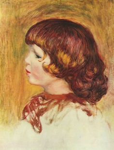 Coco Painting by Pierre Auguste Renoir Reproduction Pierre Auguste Renoir, Claude Monet, Canvas Art Prints, Oil On Canvas, August Renoir, Renoir Paintings, Oil Paintings, Art Gallery, Most Famous Paintings
