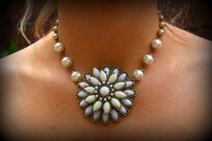 Giftpearl necklacejewelry giftwedding by dreamdaydesign 54 00