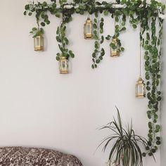 Garland de lierre artificiel faux suspendus vigne décor   Etsy