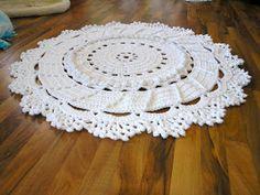 Yarn Crochet Patterns Free: Carpet Crochet Giant - Pattern Free