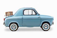Piaggio, the makers of Vespa, debuted the 400 microcar in Monaco in 1957.