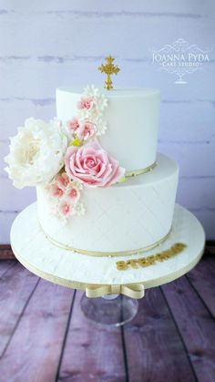 First Holy Communion - Cake by Joanna Pyda Cake Studio