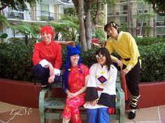 The School of Anything Goes Cosplay: Ranma 1/2! ... Girl Ranma, Shampoo, Mousse, and Ryoga Costumes on the LydMc Blog!