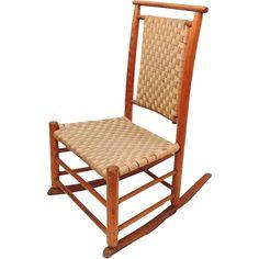 Child's Shaker Rocking Chair Maple 1890