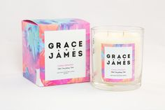 Grace and James Candle Co. by Jack Levitt #packaging #design