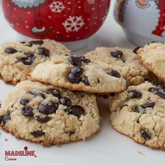 Fursecuri cu chipsuri de ciocolata / Chocolate chips cookies - Madeline's Cuisine
