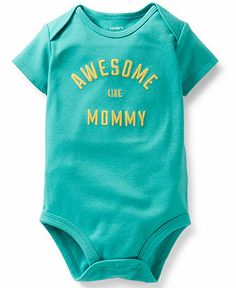 Carter's Baby Girls' Awesome Like Mommy Bodysuit - Kids Baby Girl (0-24 months) - Macy's
