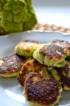 A Diary of Lovely: Recipe: Broccoflower fritters