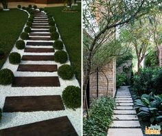 Se você quer transformar o paisagismo do seu jardim uma alternativa interessante é construir caminhos. Com materiais diferentes dá pra criar áreas de passagens que vão valorizar ainda mais seu quintal.