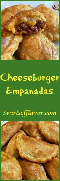 Cheeseburger Empanadas