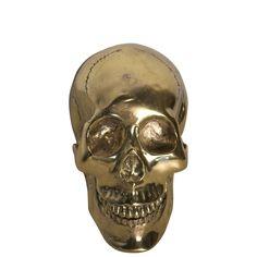 Brass Skull Sculptures