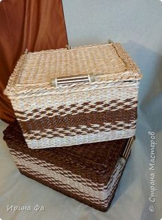 Поделка изделие Плетение Эко-стиль Кружево Трубочки бумажные фото 8