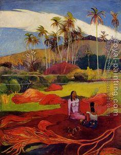 Paul Gauguin, Woman under the Palms
