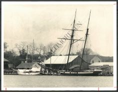 The original _Pride Of Baltimore_ -- the beautiful replica Baltimore privateer topsail schooner upon which _Kestrel_ was based.