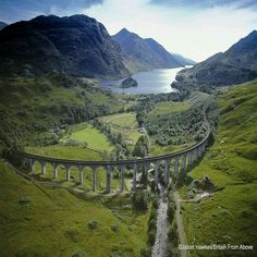 Glenfinnan Viaduct Scotland.
