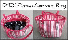 Purse Camera Bag Tutorial