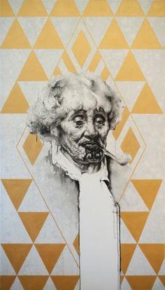 Dimensions of Ina Maori portrait painting - Sofia Minson New Zealand Tattoo, New Zealand Art, Maori Designs, Tattoo Designs, Nz Art, Maori Art, Kiwiana, Mirror Art, Animal Decor