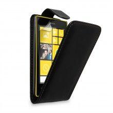 Funda con Tapa para Lumia 520 - Negra  $ 75,81