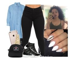 """""""Last set for tonight ✌️"""" by saucinonyou999 ❤ liked on Polyvore featuring Topshop, Rolex, NARS Cosmetics and NIKE"""