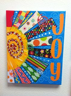Teaching Blog Addict: end of the year art project. Great for adults too!!