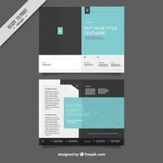 simple brochure templates free