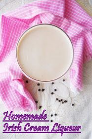 COOKING IS EASY: Homemade Irish Cream Liqueur...step by step.