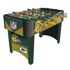 a8e67b670b6 Green Bay Packers NFL Logo Foosball Table - Foosball and Soccer ... Greenbay  Packers