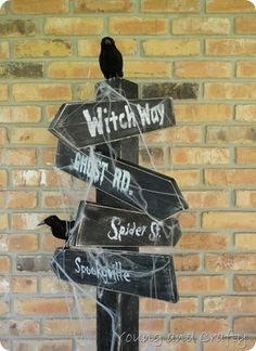 cool halloween decor, great tutorial and tip.