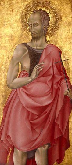 Saint John the Baptist (1433-1442) by Giovanni di Paolo