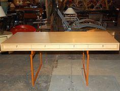 Bodil Kjaer Desk   From a unique collection of antique and modern desks at https://www.1stdibs.com/furniture/storage-case-pieces/desks/