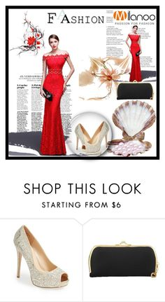 """""""Maxi Dress Red"""" by zijadaahmetovic ❤ liked on Polyvore featuring Lauren Lorraine and milanoo"""