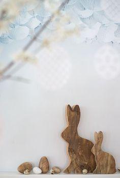 wunderschoen-gemacht: natürliche ostern Spring Nature, Spring Home, Easter Festival, Vintage Illustrations, Easter Ideas, Rabbits, Bunnies, Easter Lunch, Maid Services
