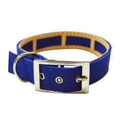 Collar Antiparasitario para perro Nylon Azul
