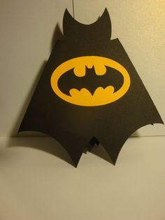 Batman birthday party invitations set of 12super by HappyToons, $24.00