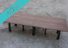Compra en GMD diseños que te encantarán. Mesas con un 60% de descuento. Entra a: ow.ly/UcumM