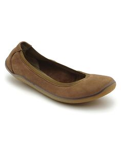 f045675ed3436 Look at this #zulilyfind! Vivobarefoot Tan Sofa Daisy Leather Flat - Women  by Vivobarefoot