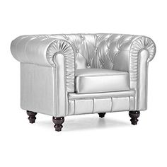 Zuo Modern Aristocrat Arm Chair Silver -- Click on the image for additional details.