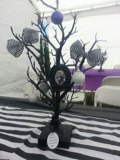 Nightmare before christmas centerpieces.