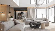 Wystrój wnętrz - Salon - pomysły na aranżacje. Projekty, które stanowią prawdziwe inspiracje dla każdego, dla kogo liczy się dobry design, oryginalny styl i nieprzeciętne rozwiązania w nowoczesnym projektowaniu i dekorowaniu wnętrz. Obejrzyj zdjęcia! - strona: 10