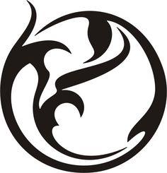 Circle Tribal Tattoo Design