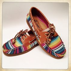 Boatshoes with prints Stride