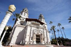 Hearst Castle's magnificent main house, called Casa Grande, was inspired by a Spanish cathedral.