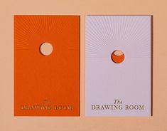 The Drawing Room & Bar at St. Regis Hong Kong on Behance Graphisches Design, Logo Design, Graphic Design Branding, Typography Design, Print Design, Graphic Design Books, Design Posters, Brochure Design, Cover Design