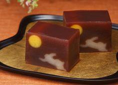 舟月夜 Shu getsu ya - Harvest moon @ 宗家源吉兆庵和菓子 Minamoto Kitchoan (Japan)♥