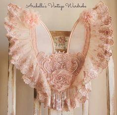 Dusty pink wings