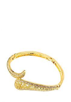 Браслет Lebedi Crystals  Браслет Lebedi Crystals. Цвет: золотой.  Сезон: . Подарки и цветы/Украшения и аксессуары