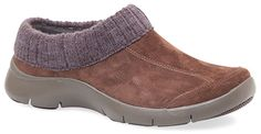 Thanks to comfy suede leathers and a sweater lining you will be warm and cozy this fall but don't worry Eartha's lightweight construction and all-day comfort will leave a spring in your step. Lightweight, flexible shoe. All-day Dansko comfort and support. Slip resistant outsole makes it ideal for kitchen and hospital settings. Low-profile.