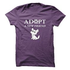 Nice T-shirts [Best Price] Adopt a new friend - (3Tshirts)  Design Description: Adopt a new friend. Animal rescue is not a hobby - it's a way of life.  If you don't fully love this design, you can SEARCH your favorite one by means of the usage of search bar on the... -  #shirts - http://tshirttshirttshirts.com/automotive/best-price-adopt-a-new-friend-3tshirts.html Check more at http://tshirttshirttshirts.com/automotive/best-price-adopt-a-new-friend-3tshirts.html